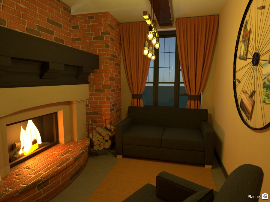Cosy living room 83317 by Gen image