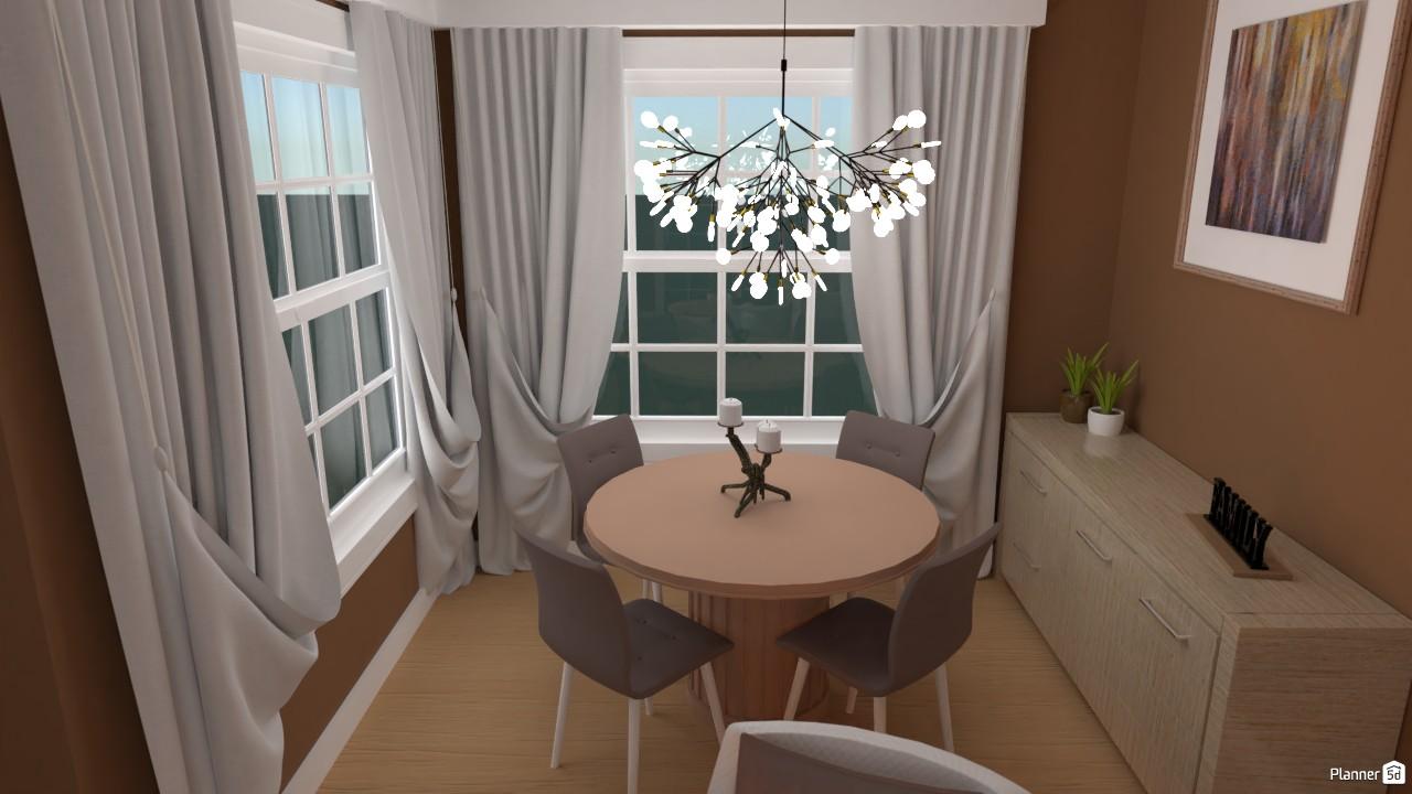 Comedor y sala de estar (d) 3761635 by Hall Pat image
