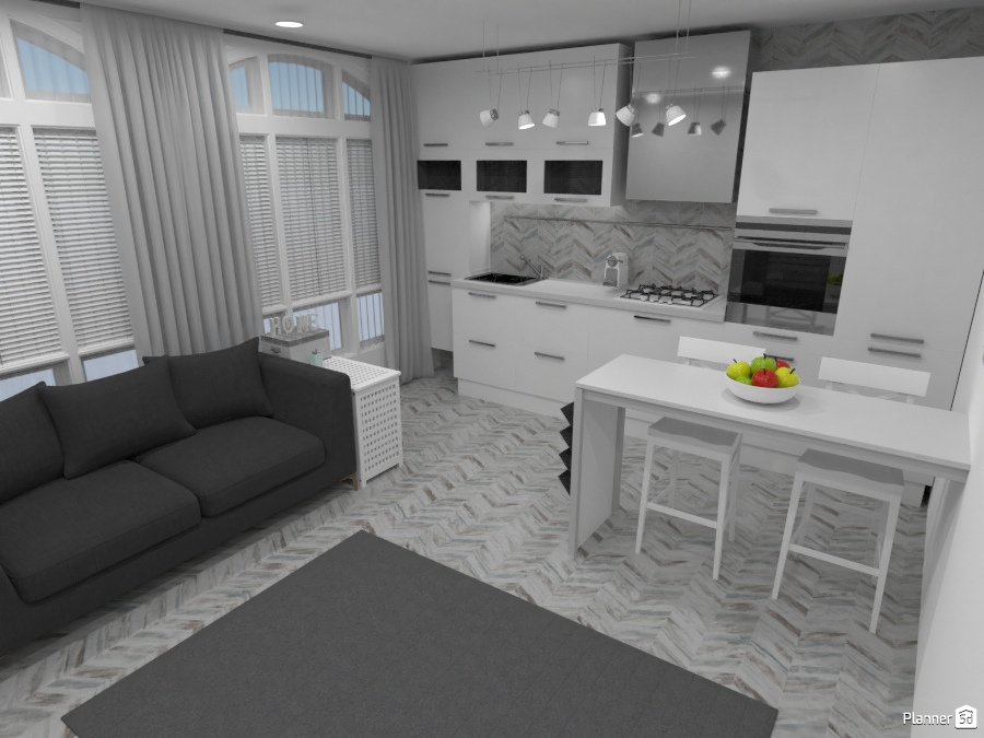 Modern apartment for 2 77552 by Irene DS image