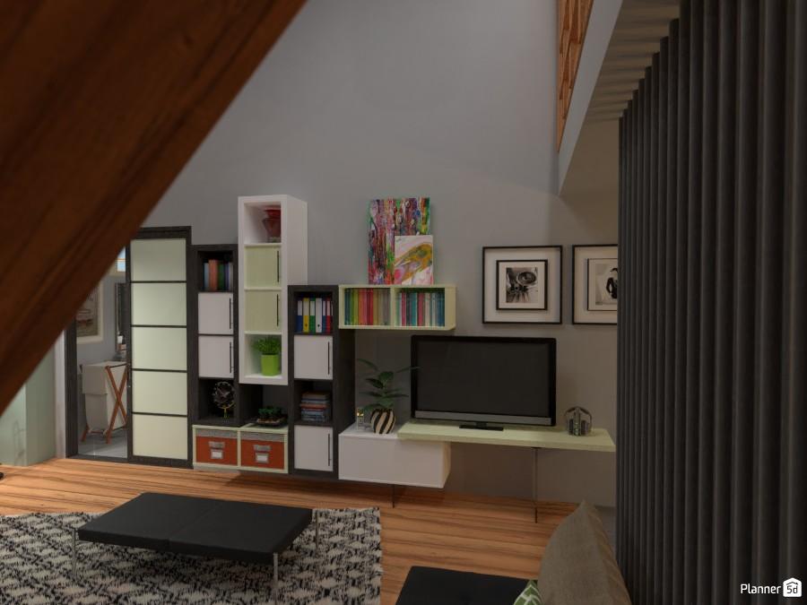 Library in Livingroom 2982899 by Micaela Maccaferri image