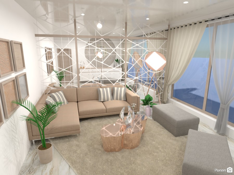 Reflection living room 4960447 by Mia image