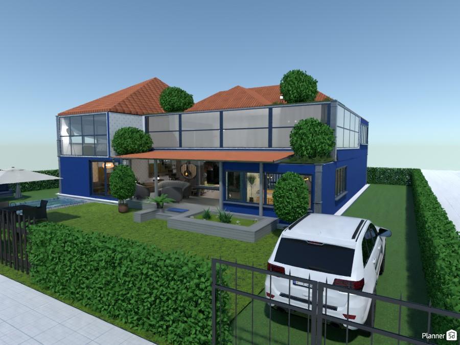 Blue Beach House 81619 by kahem image