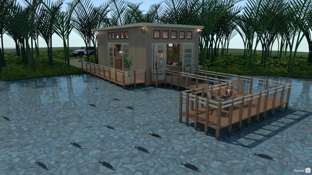 Casa en el lago. 3922198 by Hall Pat image