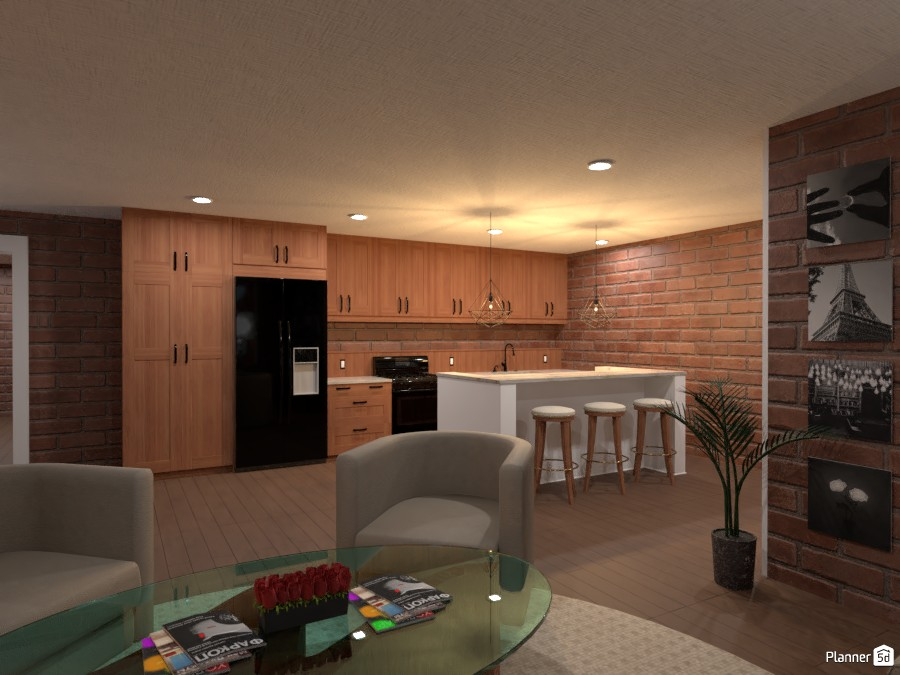NYC Apartment Kitchen 4105481 by chrissyyyy image