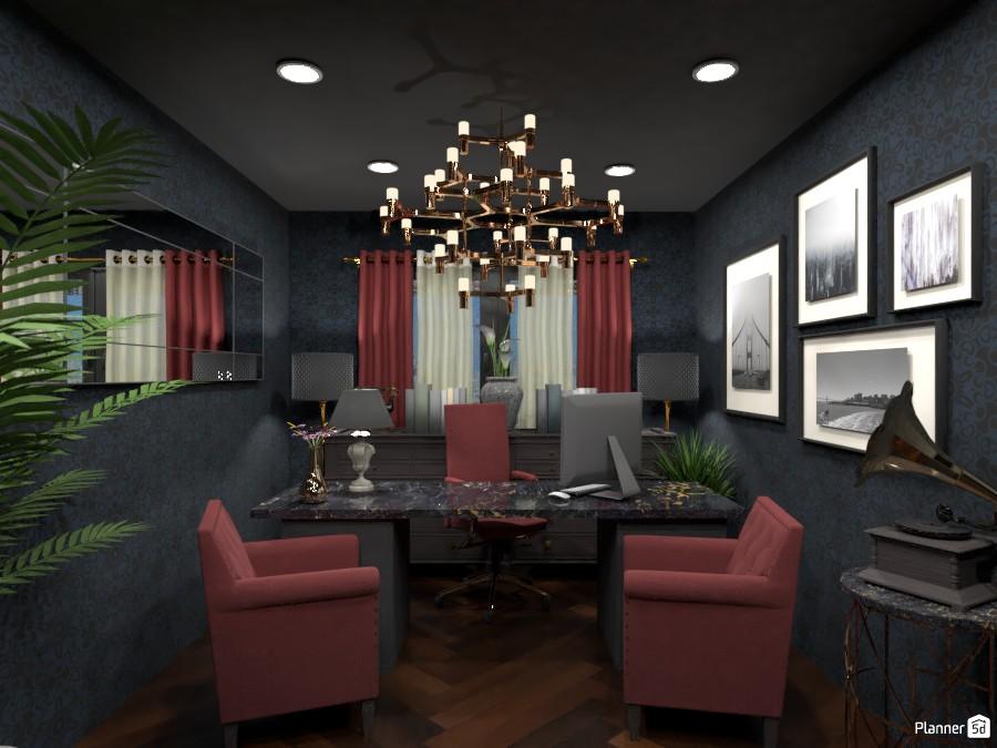 Dark office 3359495 by Arnie image