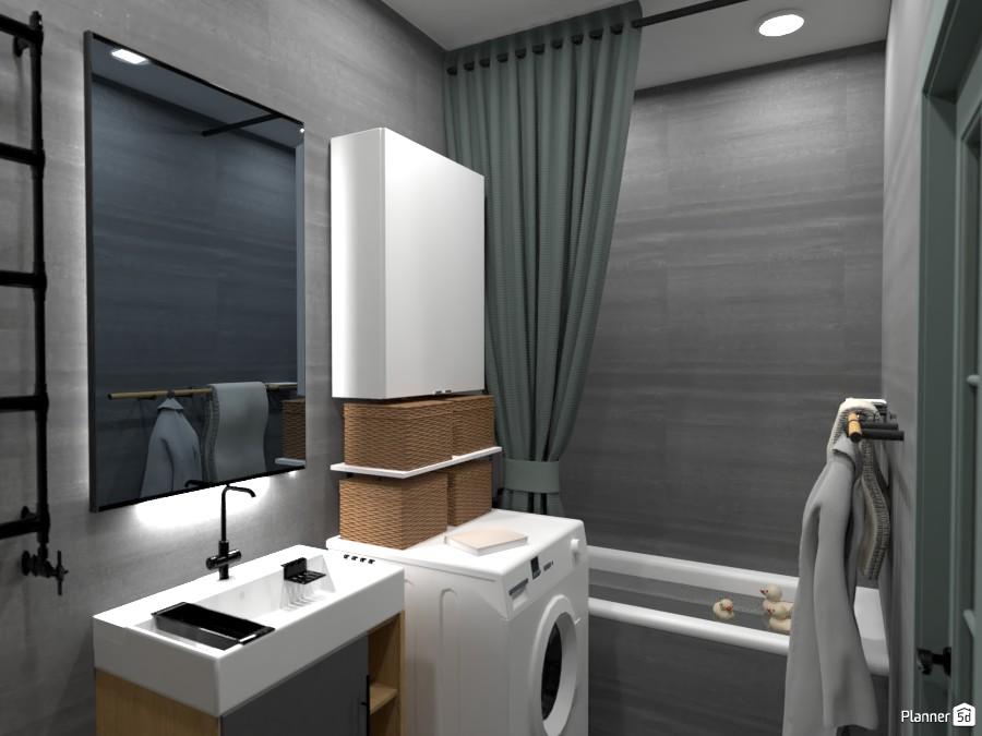 Дизайн ванной комнаты 3599487 by Татьяна Максимова image
