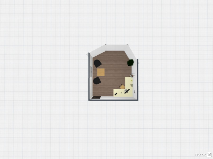 office  with rouded window 86960 by sz image