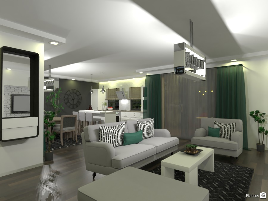 House 01/21 - Dining Room & Kitchen & Living Room 3934344 by M SECK image