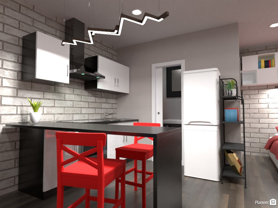 Small studio interior 84432 by Gabes image