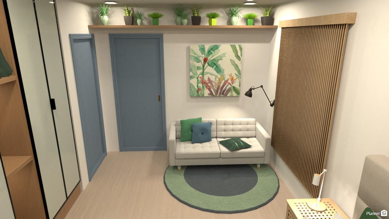 Casa Estante Verde 8 4465666 by Mari Mond image
