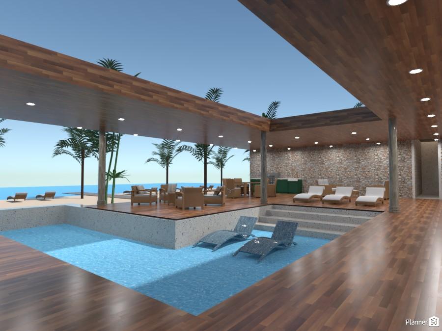 Villa Beach 84603 by Gaby Segura image