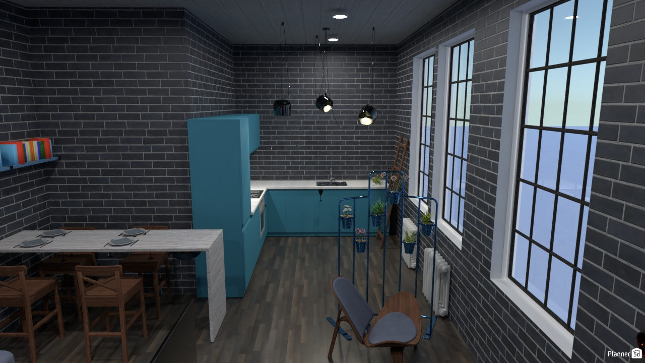 Kitchen + dining room 85784 by Anonymous :) image