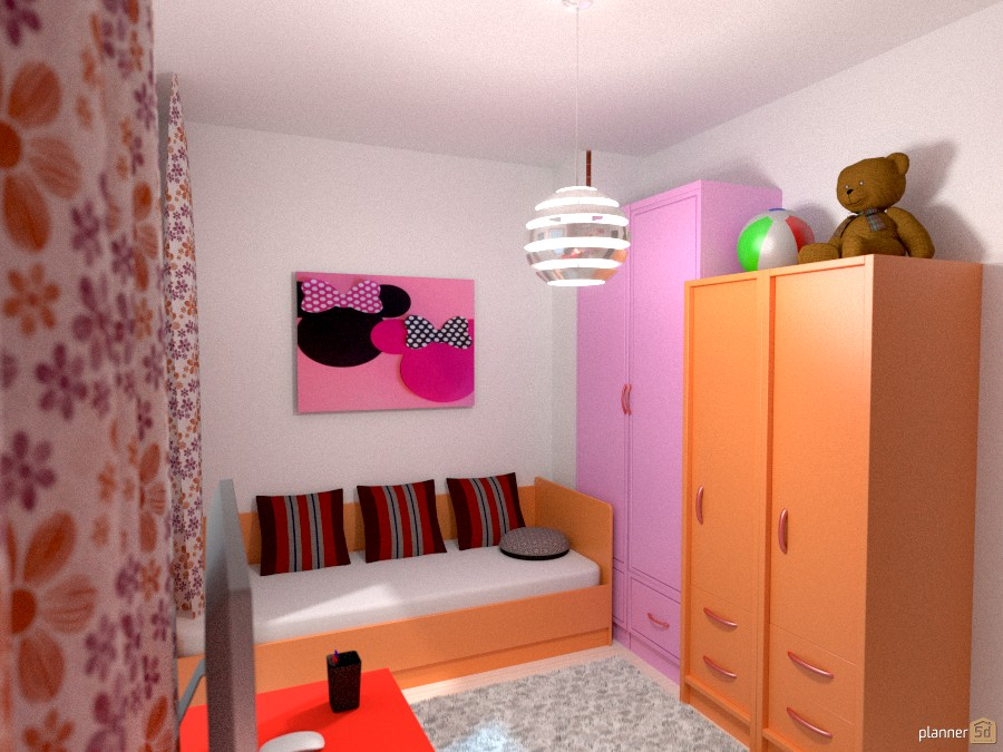 Modern Girl Bedroom 2 917591 by Yordan Radev image