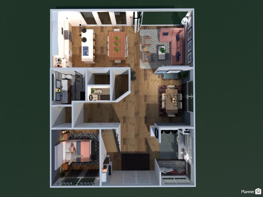 My Dream Home Free Online Design 3d Floor Plans By Planner 5d
