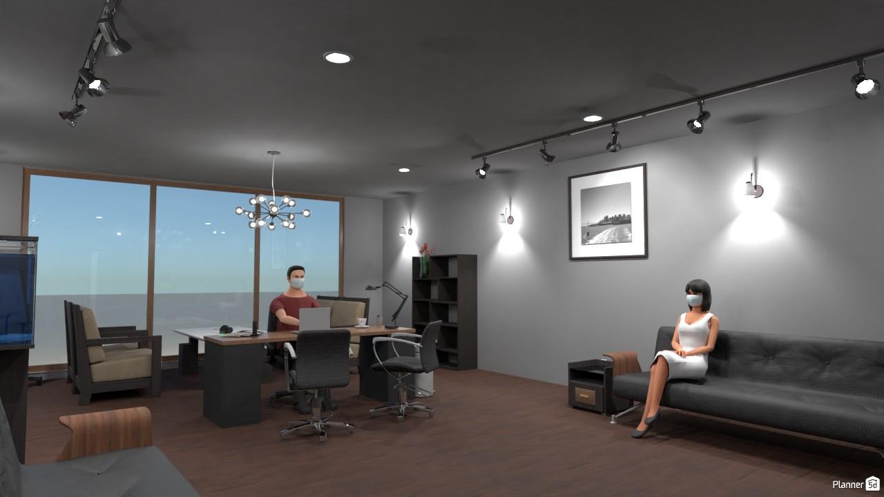 Business Office 86753 by John Hunter image