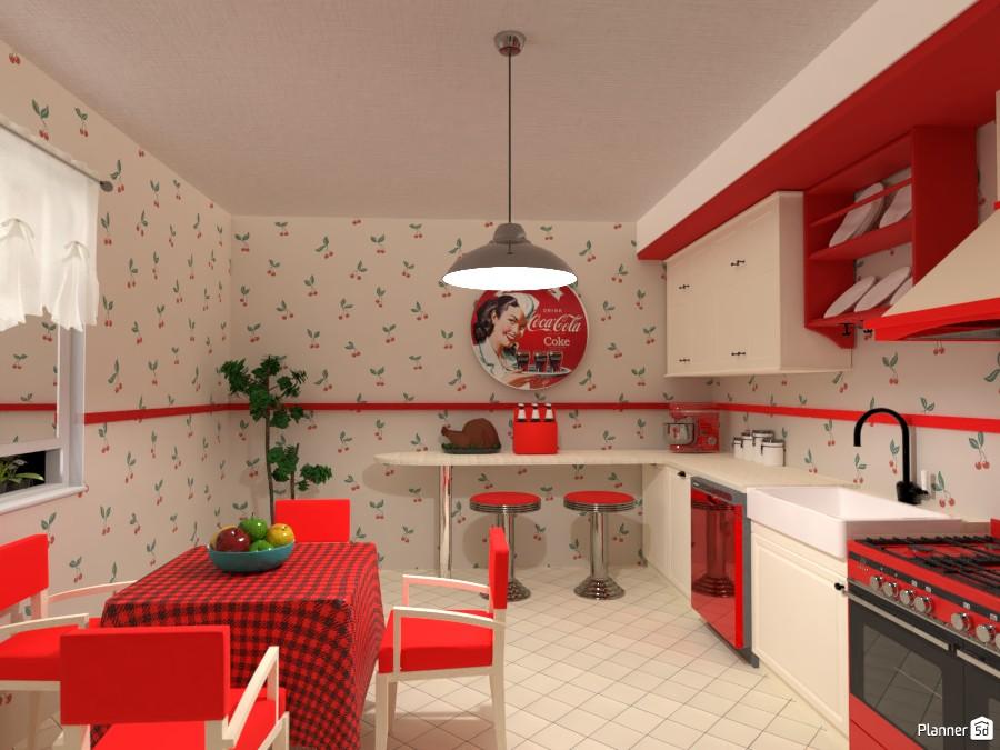 Retro Kitchen 4393564 by Yasemin Seray Ençetin image