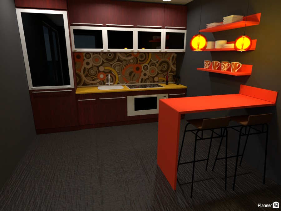 Orange Kitchen 3056940 by ESK image