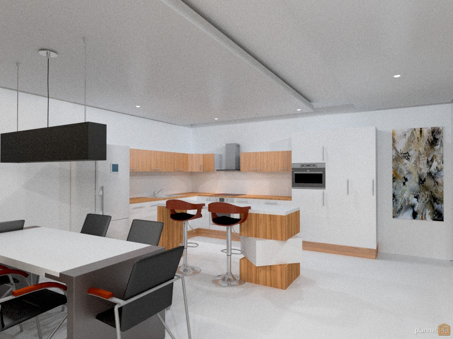 Modern Open Space House 948834 by Yordan Radev image