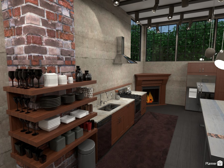 Big Loft Kitchen 3060292 by ESK image