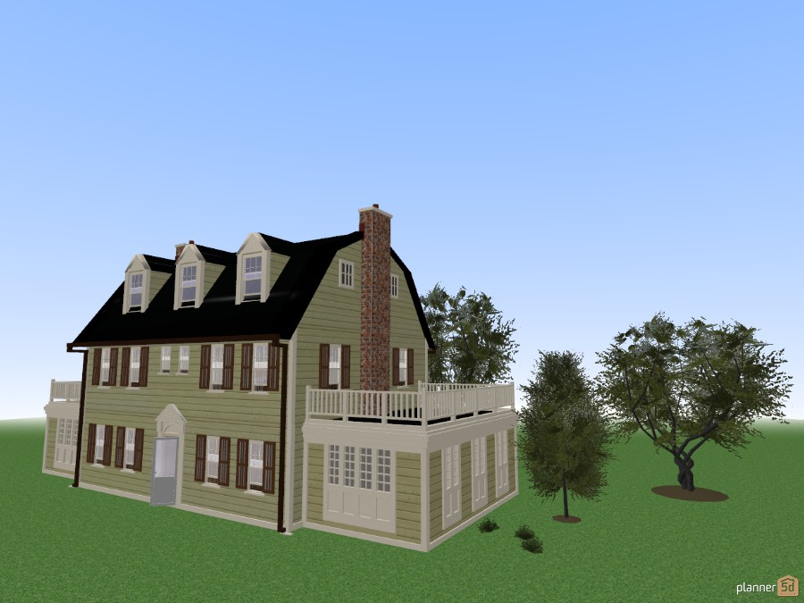 Amityville Horror House Revised See If You Can Find The Evil Eyes By Ron Kemp Free Online Design 3d Floor Plans By Planner 5d