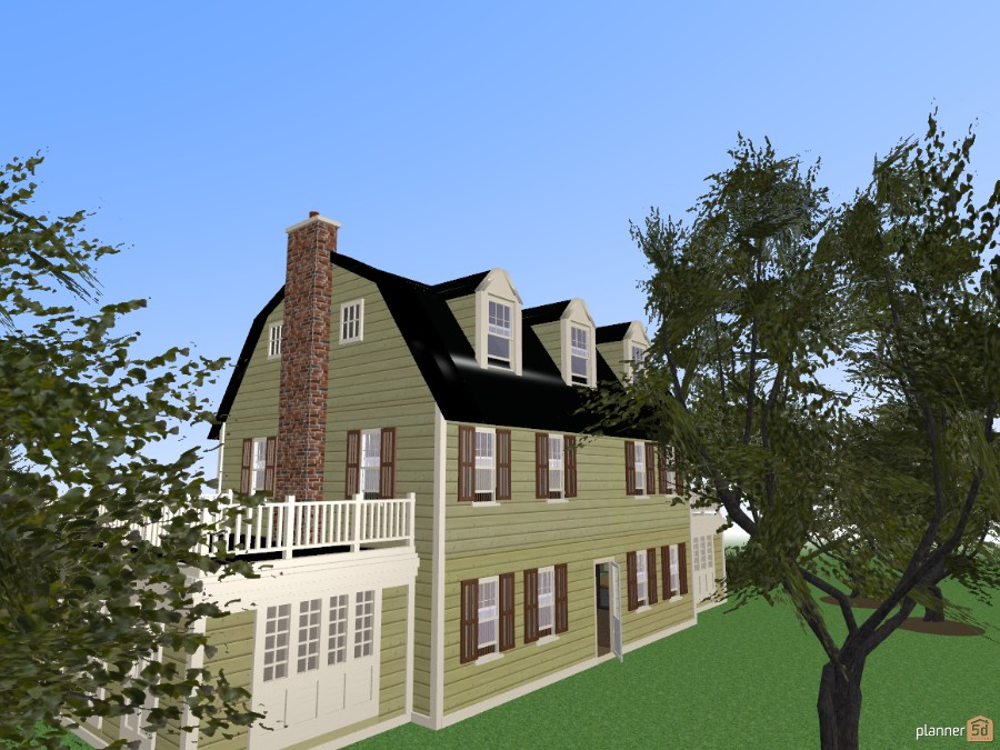 Amityville House Free Online Design 3d Floor Plans By Planner 5d