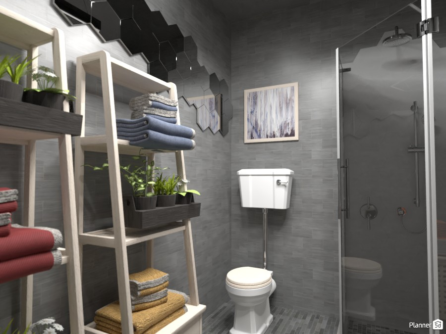 Apartment, bathroom, Render 1 3616497 by Doggy image