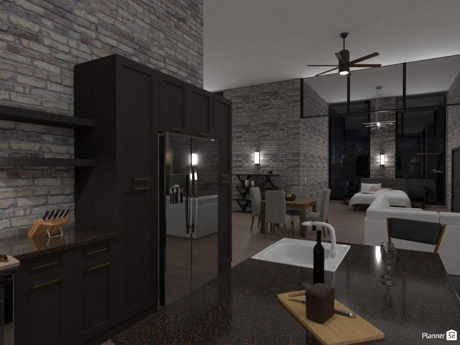 Industrial studio apt 3974690 by User image