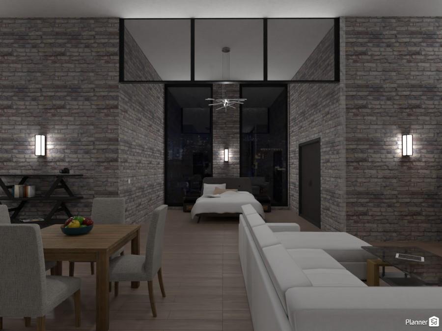 Industrial studio apt 3973239 by User image