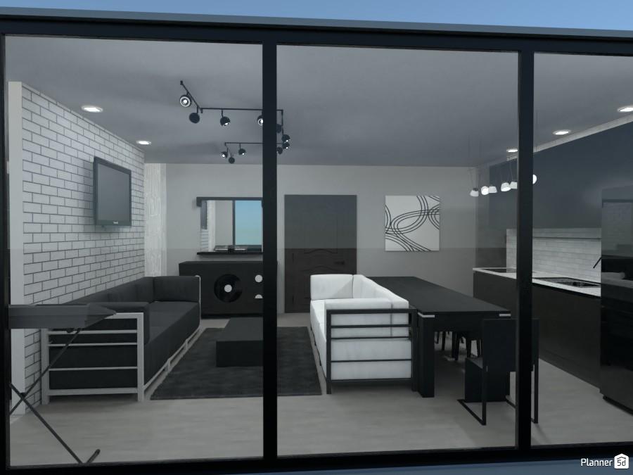 Modern twin apartmans 83516 by Rita Oláhné Szabó image