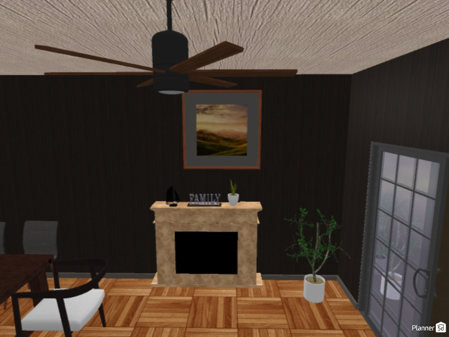 Modern living and dining quarters 83607 by Alpha Blaze image