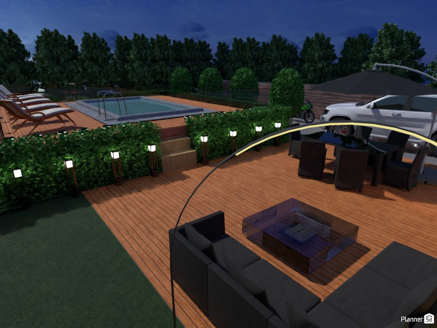Outdoor Space with Pool 2977045 by fabio alves image
