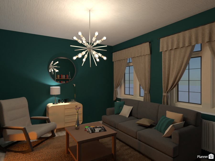 turquoise living room 87245 by Chani image