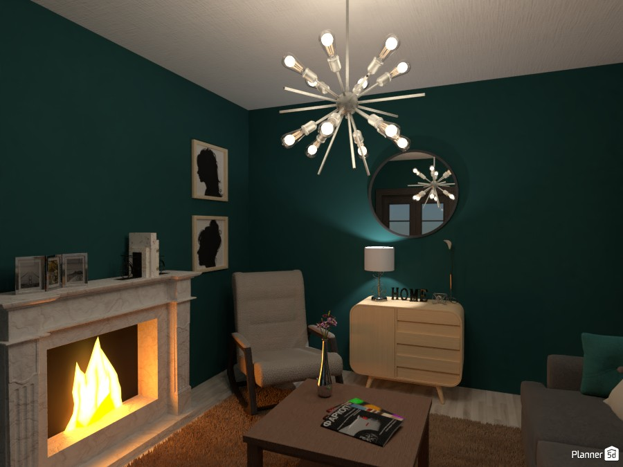 turquoise living room 4411261 by Chani image