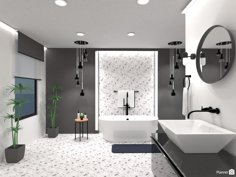 contemporary bathroom 87210 by Yasemin Seray Ençetin image