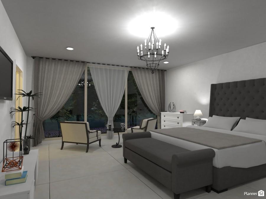 Master bedroom with wardrobe 3625737 by Megan image