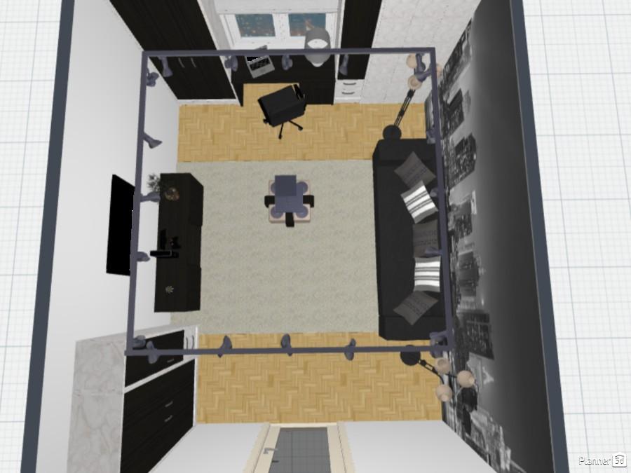 Комната для подростка в стиле