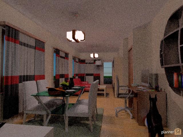 Apartamento rojo 77657 by maria gonzalez herrero image