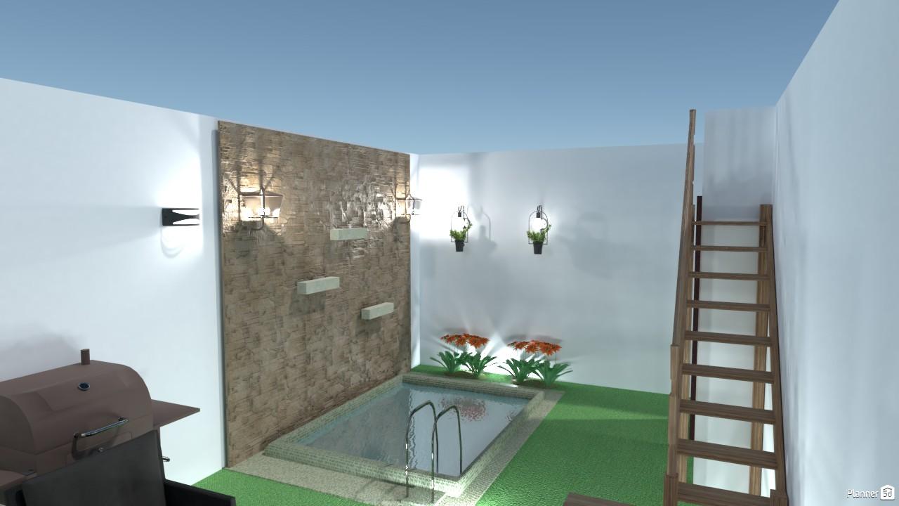 patio con piscina 3004914 by Veronica Rodriguez de Falcones image