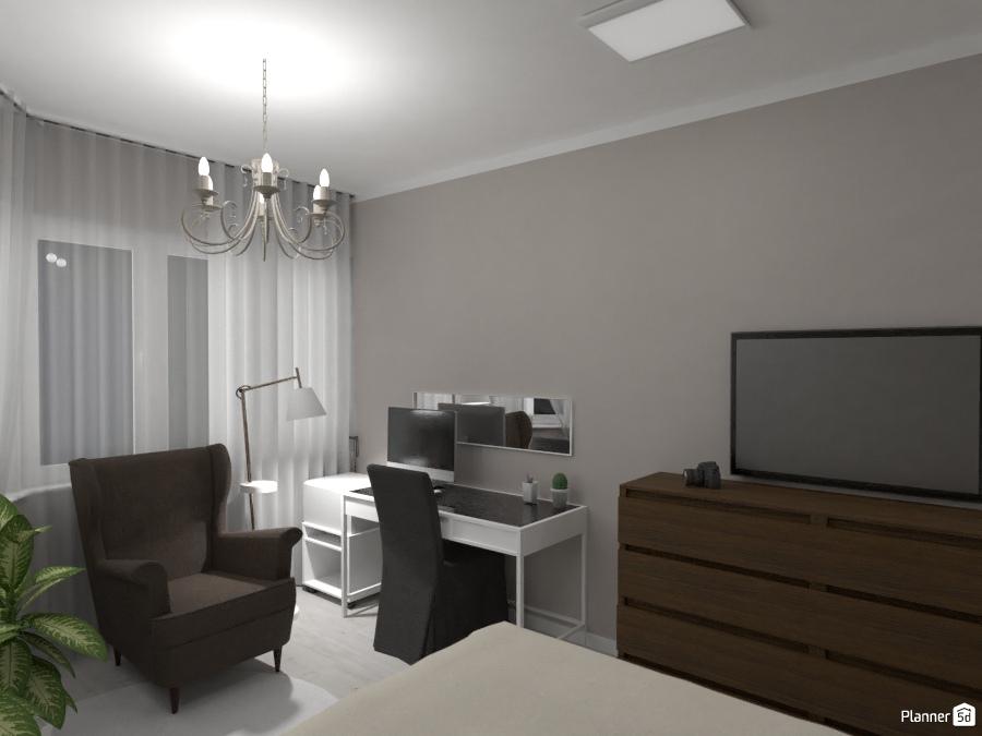 Дизайн спальни 75299 by Татьяна Максимова image