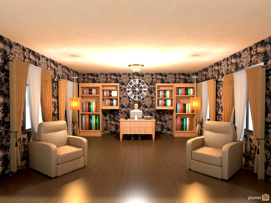 library and den 779222 by Joy Suiter image