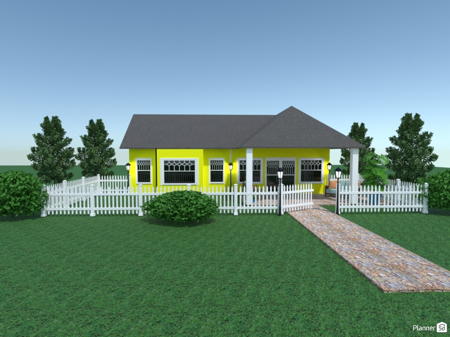 yellow guest house 2229715 by Joy Suiter image
