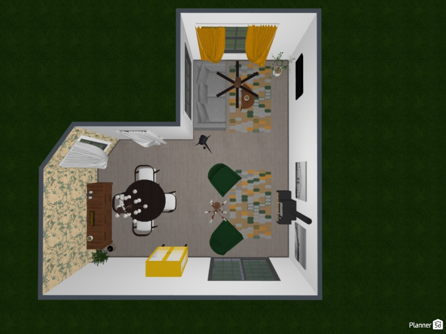 Dining and Living Room 83632 by S729 image