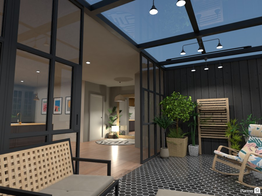 Conservatory of the Scandi House 4492100 by Ana G image