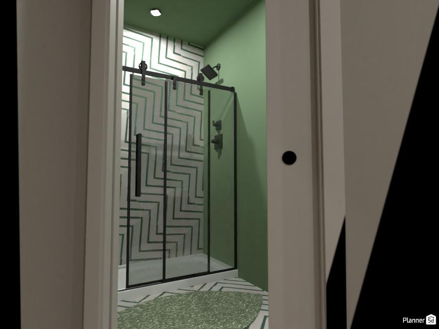 Scandi House - Powder Room + Shower Room 4492223 by Ana G image