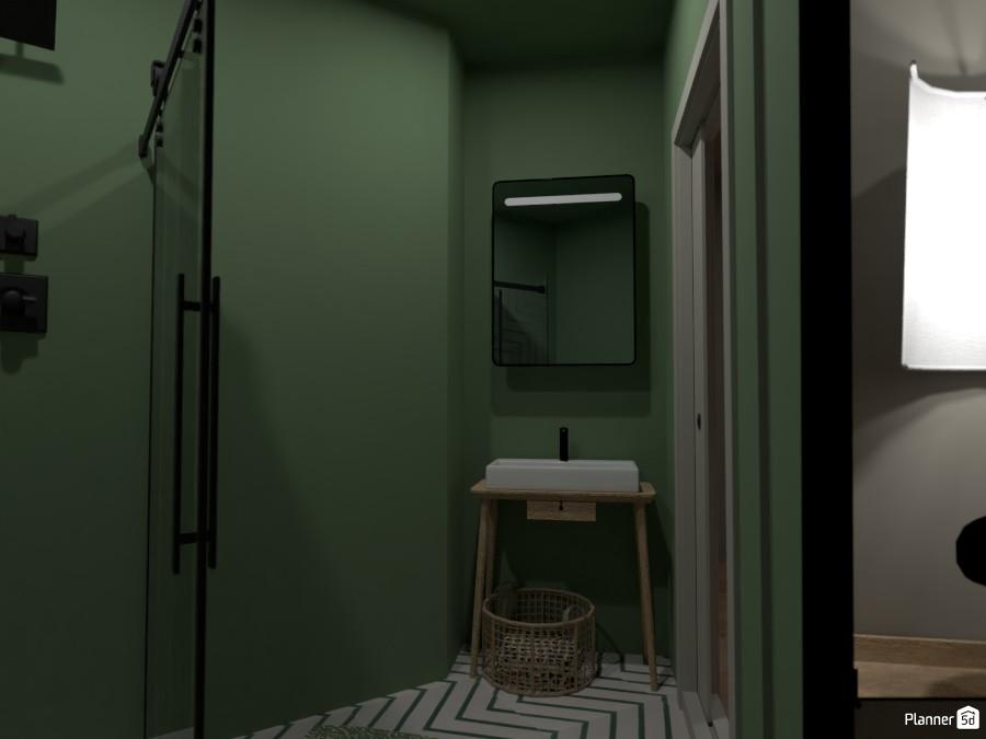 Scandi House - Powder Room 4492229 by Ana G image