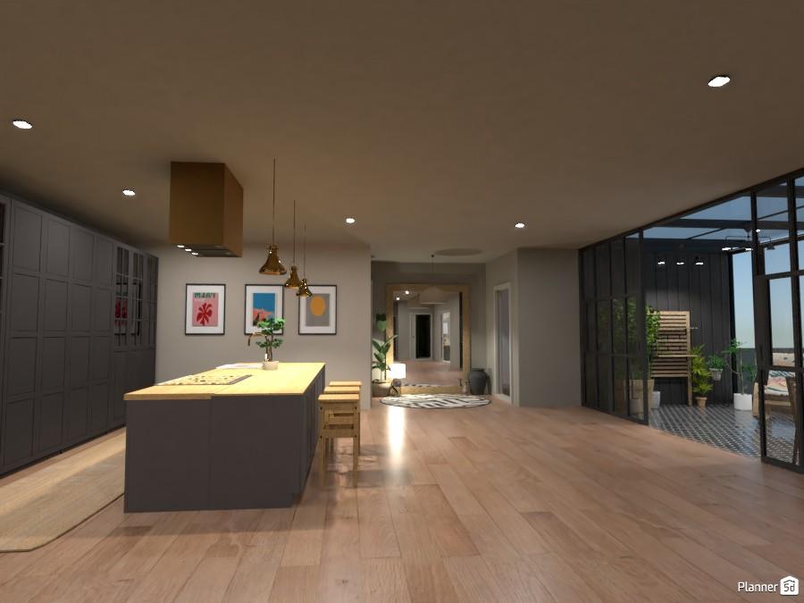 Scandi House - Kitchen 4492084 by Ana G image