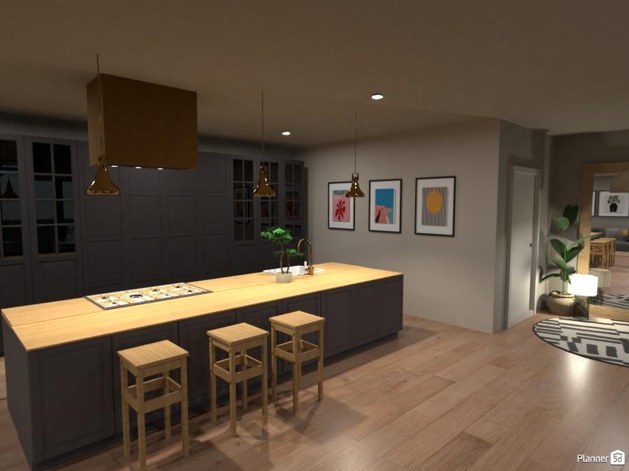 Scandi House - Kitchen 2 4492086 by Ana G image