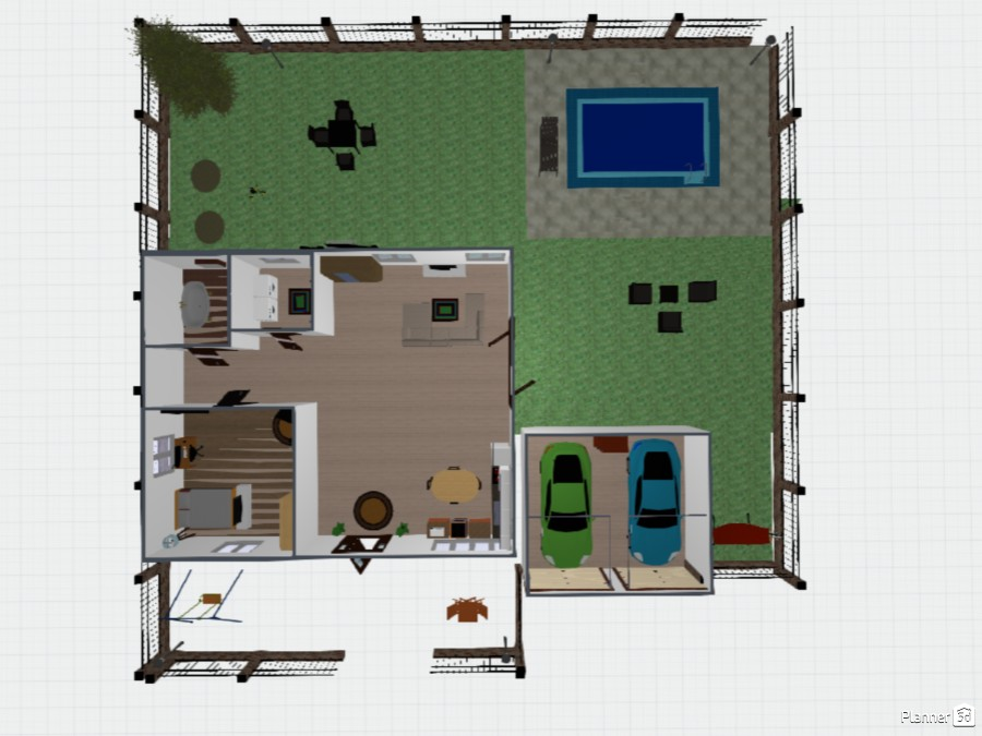 new one floor house 73806 by Izzy image