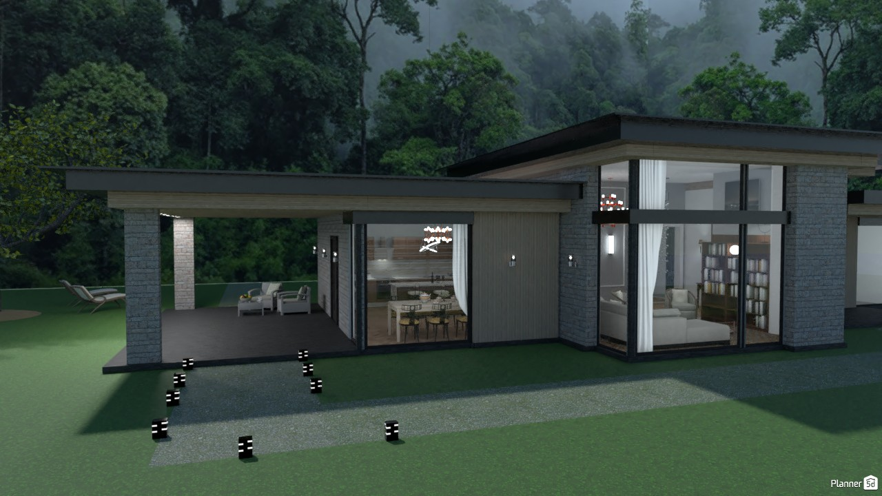 House in the woods 4022052 by Secondsim image