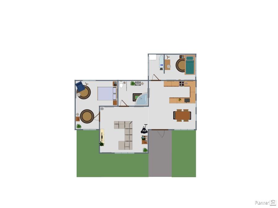 Modern 2 bedroom 75387 by Zobwankenbi_131 image